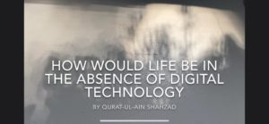 Absence of digital technology