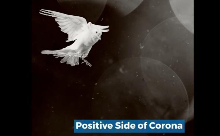 positive side of corona