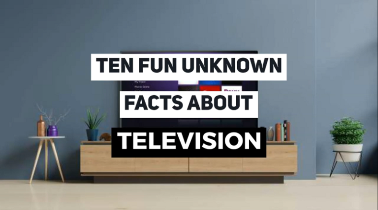 Fun facts about TV